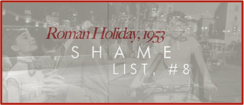 Shame List Banner